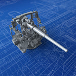 "1/192 Royal Navy 4.7""/40 (12cm) QF MKVIII Gun (Early Version)"