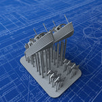 1/350 Royal Navy 25ft Fast Motor Boats x2