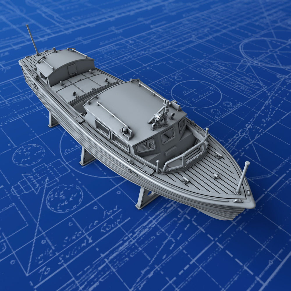 1/400 Royal Navy 35ft Fast Motor Boat