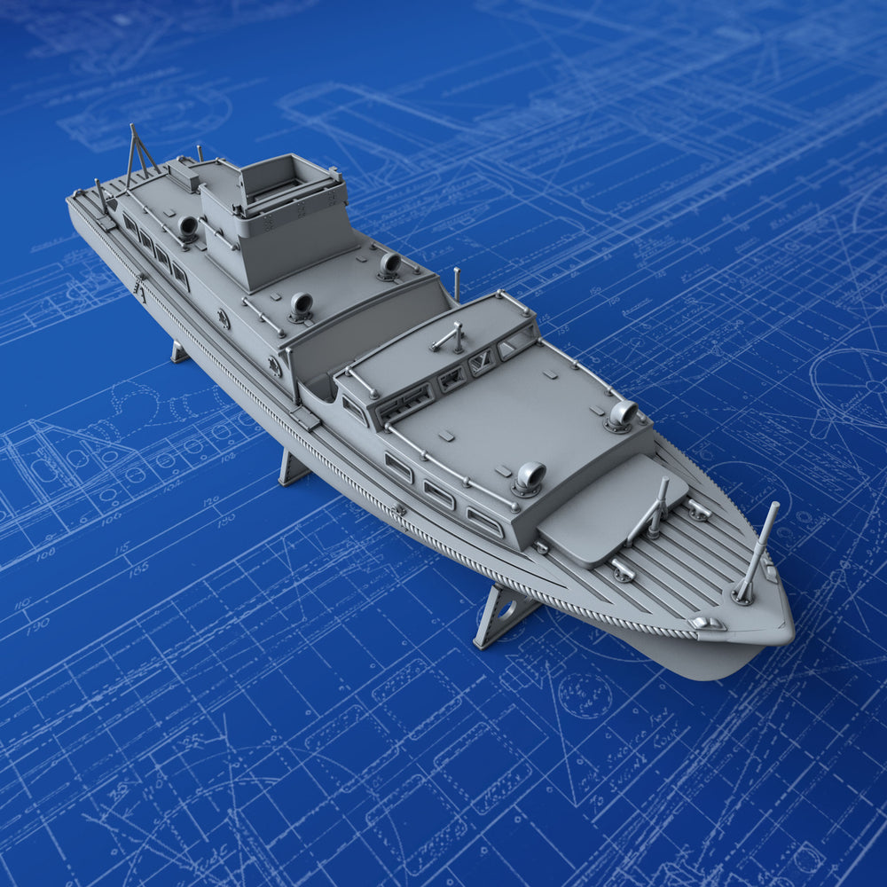 1/350 Royal Navy 45ft Medium Picket Boat