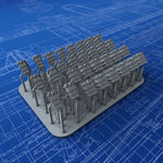 "1/350 Royal Navy 4.7"" Ready Use Lockers x30 (3 Sizes)"