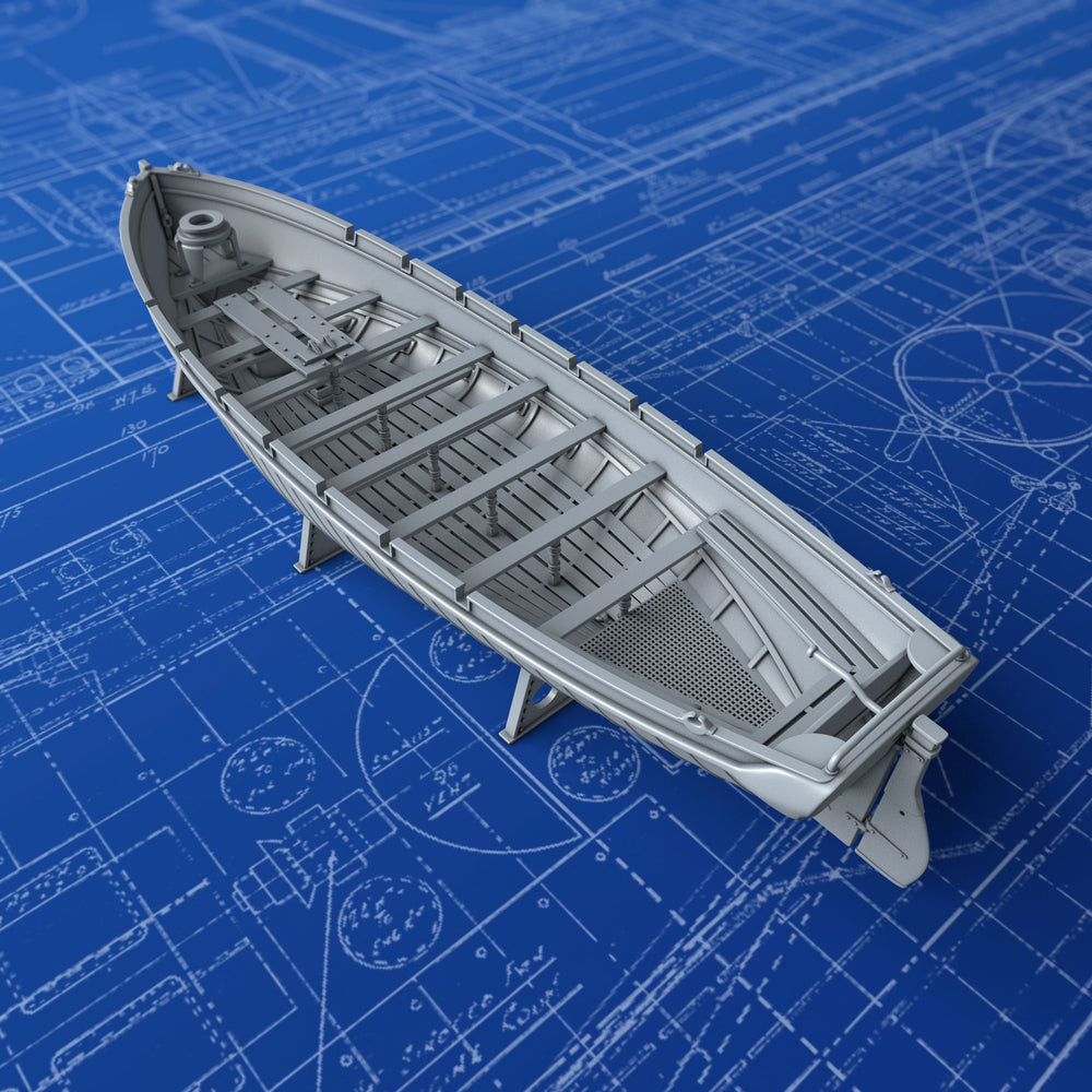 1/200 Royal Navy 36ft Sailing Pinnace x1