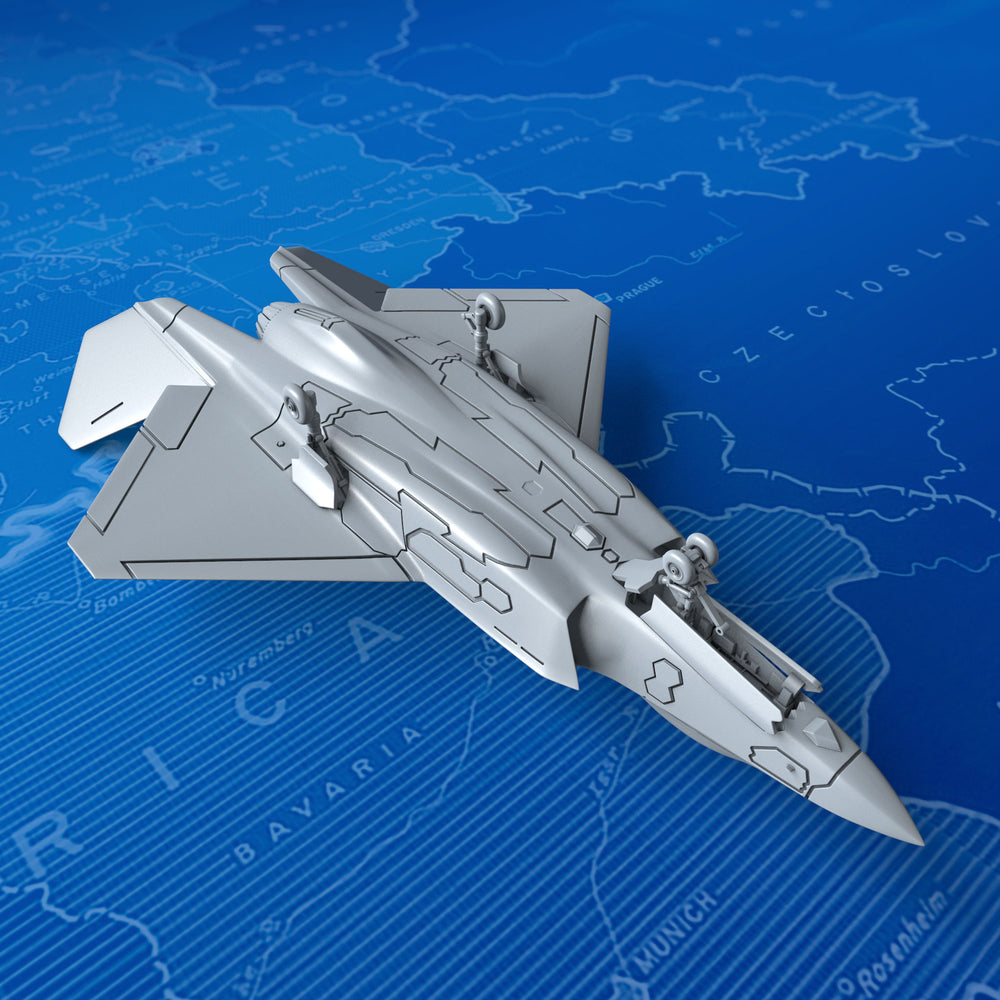 1/700 US Navy YF-35 Lightning II Concept (Landing Gear down) x6