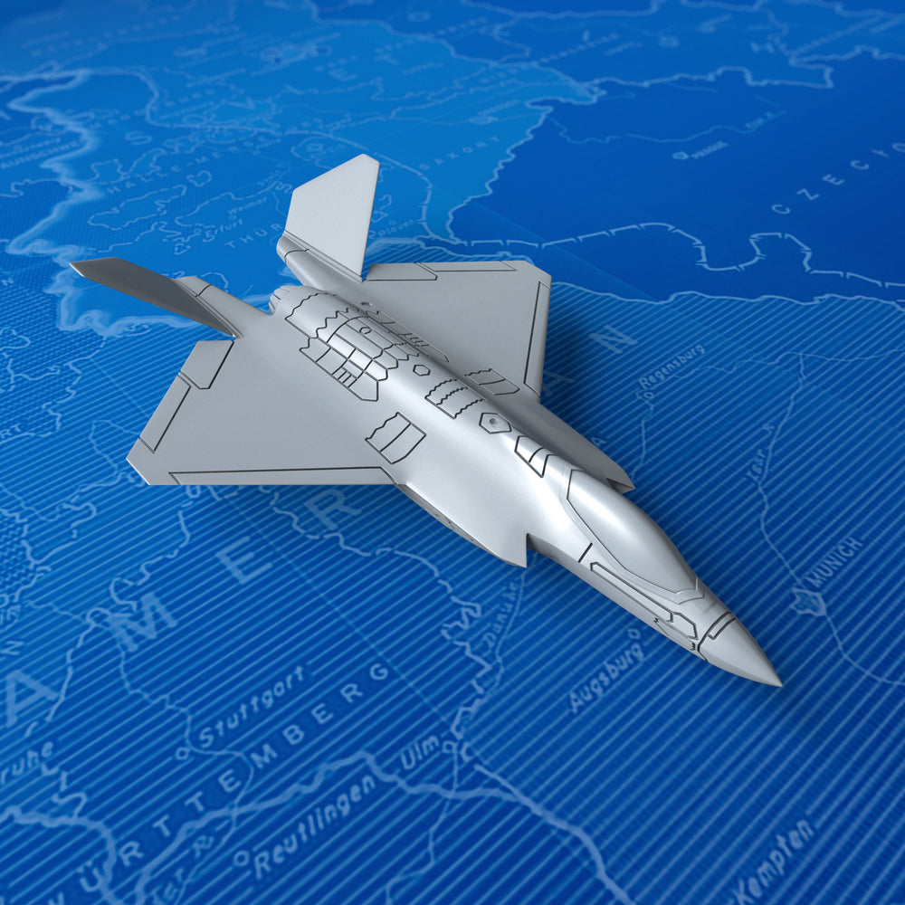 1/750 US Navy YF-35 Lightning II Concept (In-flight) x6