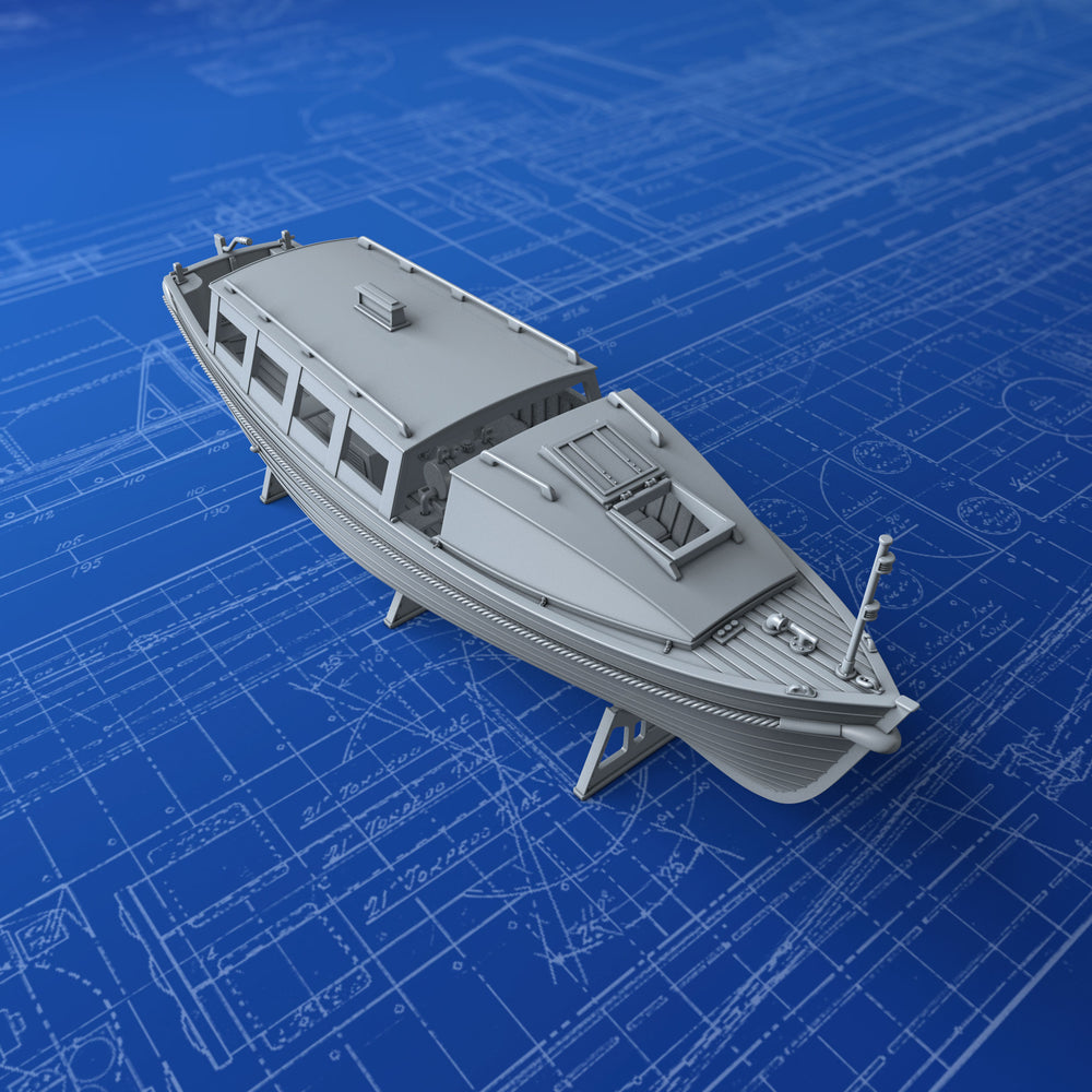 1/72 Royal Navy 25ft Motor Cutter