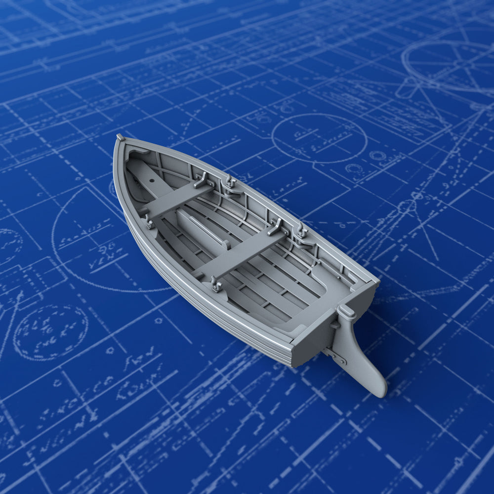 1/200 Royal Navy 10ft Dinghy