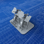 1/144 Royal Navy 20mm Oerlikon MKI Guns (0º Elevation) x2