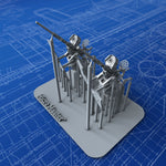 1/144 US Navy 20mm Oerlikon MKI Guns (Not-in-Use with Notch Variation) x2