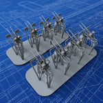 1/350 Royal Navy Twin 20mm Oerlikon MKIX Guns (0º Elevation) x8