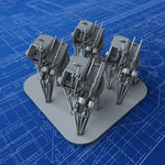 1/350 Royal Navy Twin 20mm Oerlikon MKV Guns (10º Elevation) x4