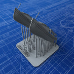 1/350 Royal Navy 25ft Motor Cutters x2