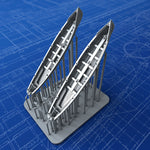 1/350 Royal Navy 30ft Gigs x2