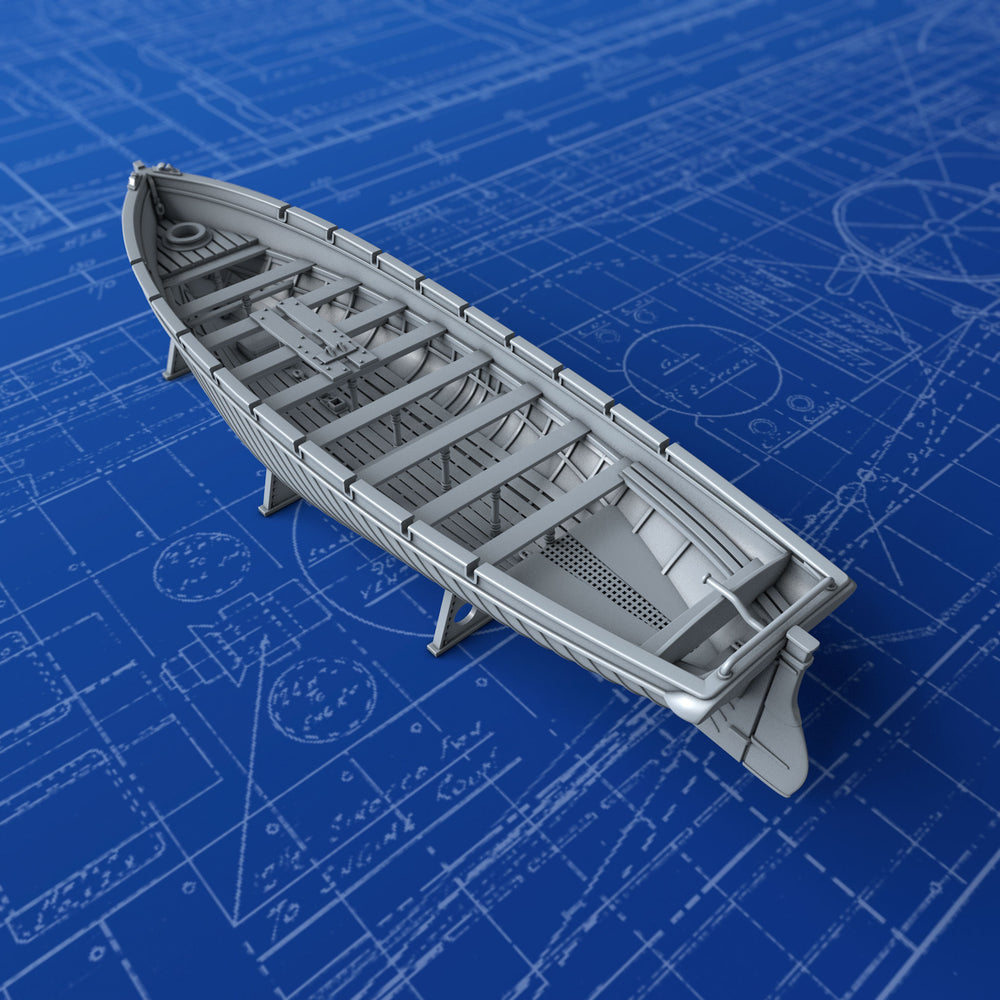 1/350 Royal Navy 42ft Sailing Launch x1