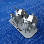 "1/350 Royal Navy 4.5"" 8cwt QF MKI Guns x2"