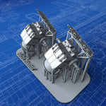 1/350 Royal Navy L & M Class Destroyer H.A/L.A MKIV DCT's x2