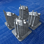 "1/700 Royal Navy 16""/45 (40.6cm) MKII/III (Twin Turrets) x4"