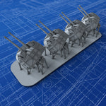 "1/700 Royal Navy 4.7"" MKXXII (XIX Mount) x4"