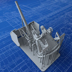 "1/72 Royal Navy 3"" 20cwt MKI Gun (Steam Gun Boat Version)"