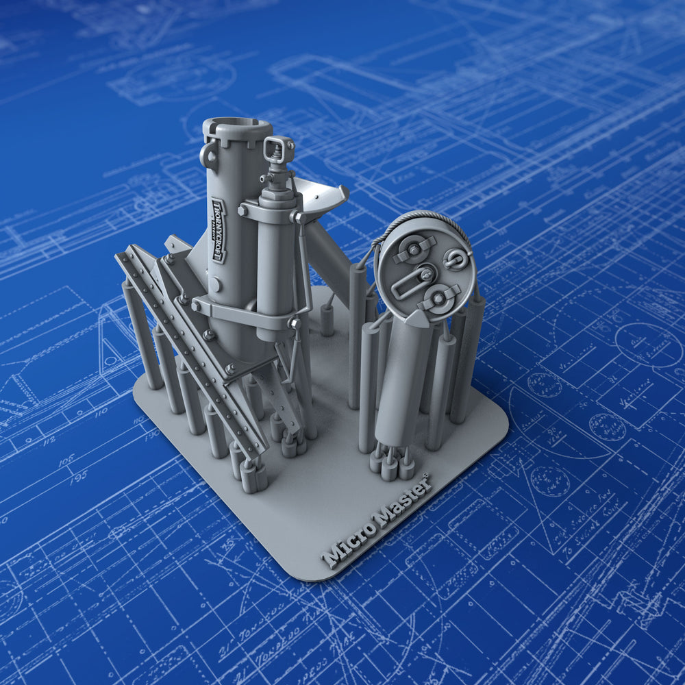1/72 Royal Navy Thorneycroft MKII Depth Charge Thrower