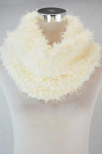 Thick Soft Furry Snood - Fashion Scarf World