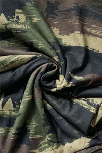 Brushed Camo Print Snood