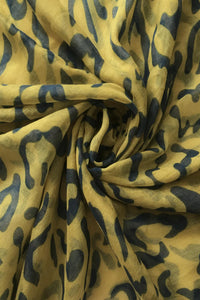 Plain Leopard Print Scarf - Fashion Scarf World