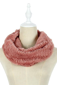 Speckled Foil Soft Twist Snood - Fashion Scarf World