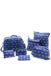 Bee Insect Print Bag Collection - Cosmetics - Fashion Scarf World