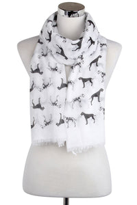 Great Dane Cotton Scarf - Fashion Scarf World