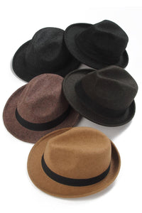 Fedora Felt Hat - Fashion Scarf World
