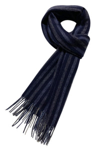 Vertical Stripe Wool Unisex Scarf - Fashion Scarf World