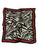 Zebra Print Pleated Square Scarf - Fashion Scarf World