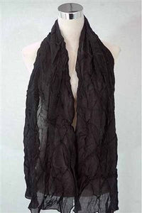 Wrapped Beaded Scarf - Fashion Scarf World