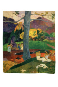 Gaugin Post Expressionism Flame Tree Painting Print Art Silk Scarf 3763