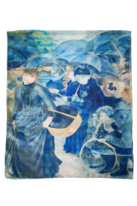 Renoir Impressionism The Umbrellas Painting Print Art Silk Scarf 3761