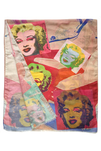 Andy Warhol Pop Art Marylin Monroe Painting Print Art Scarf 3825