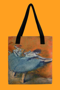 Edgar Degas Dancers At The Barre Canvas Shopper