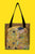 Klimt The Kiss Canvas Shopper