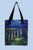 Van Gogh Starry Night Over The Rhone Canvas Shopper