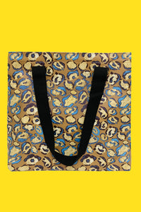 Abstract Leopard Print Bag Collection - Shopper