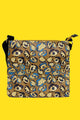 Abstract Leopard Print Bag Collection - Crossbody