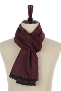 Pin Stripe Men Scarf - Fashion Scarf World