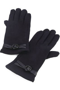 Cross Buckled Gloves - Fashion Scarf World