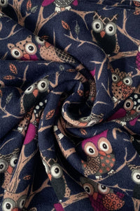 Owl Animal Print Snood