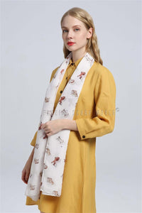 Galloping Horse Print Scarf - Fashion Scarf World