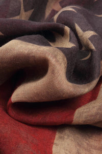 American Flag Print Scarf - Fashion Scarf World