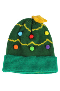 Kid's Bauble & Christmas Tree Hat - Fashion Scarf World