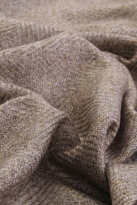 Fine Herringbone Pure Cashmere Scarf - Fashion Scarf World