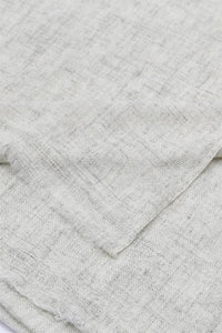 Plain Shaded Colour Pure Cashmere Scarf - Off White - Fashion Scarf World