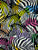 Colourful Zebra Print Snood